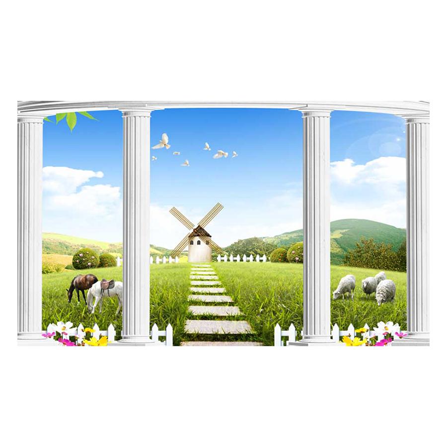 Tranh Dán Tường Phong Cảnh 3D TV0689