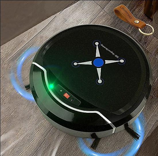 Robot Hút Bụi Thông Minh Đa Năng IntelSweep - Hút Cực Mạnh, Hút Lông Chó Mèo, Siêu Sạch, Pin Lâu, Ít Ồn