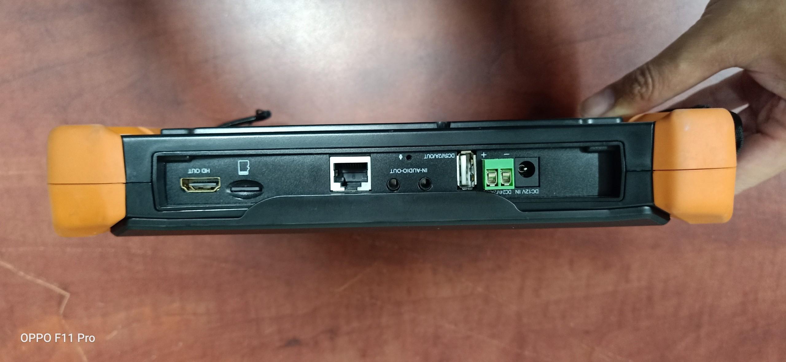 Máy test camera cảm ứng 8inch IP/AHD/TVI/CVI/HD-SDI 8.0MP HDMI in & output FC-900PRO