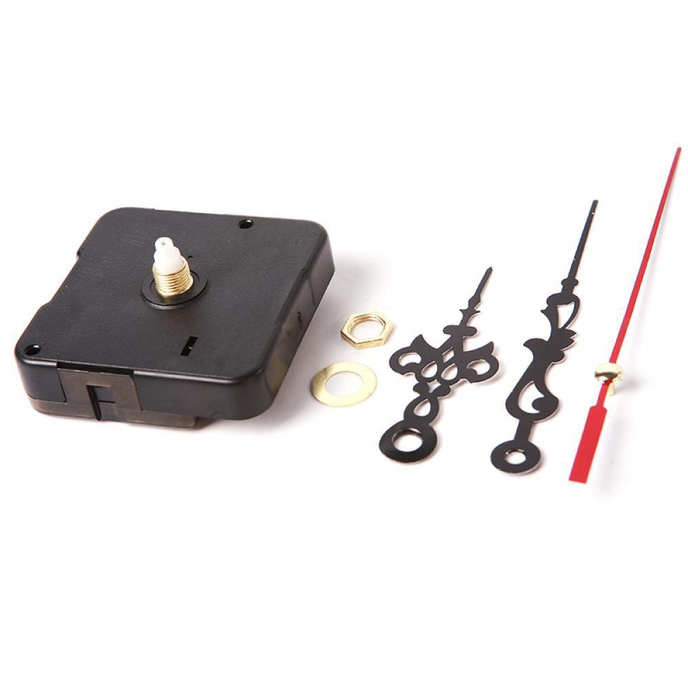 Bộ máy đồng hồ treo tường kim trôi và 3 cây kim kèm theo ốc vít