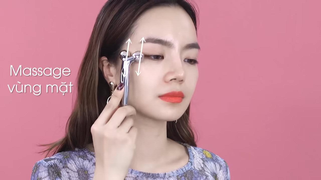 Cây Lăn Massage Mặt 3D (Loại nhỏ)