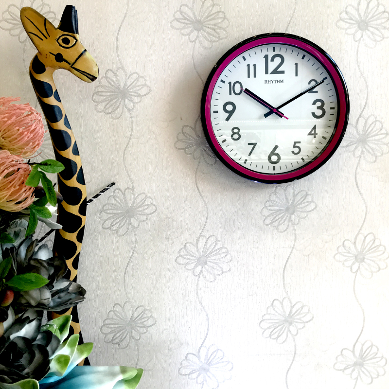 Đồng hồ treo tường Nhật Bản Rhythm CMG507NR13 - Kt 31.5 x 4.8cm, 755g