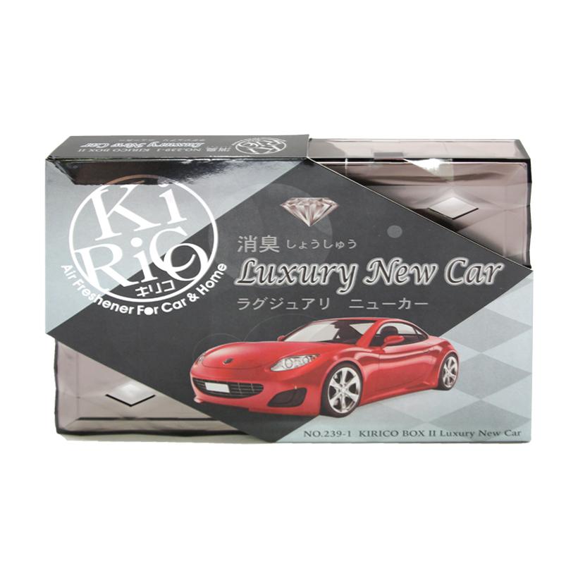 Hộp thơm khử mùi AIR-Q KIRICO BOX II NO.239-1 Luxury New Car 160g