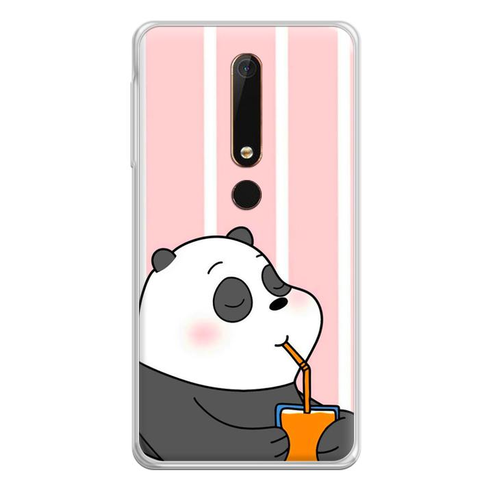 Ốp lưng dẻo Nettacase cho Nokia 6 20180399 PANDA06