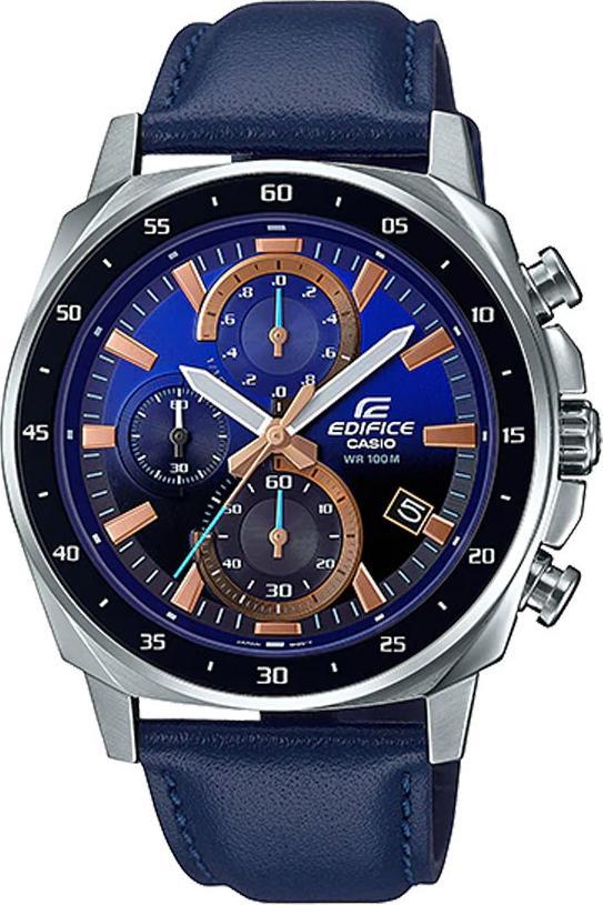 Đồng hồ nam dây da Casio Edifice chính hãng EFV-600L-2AVUDF