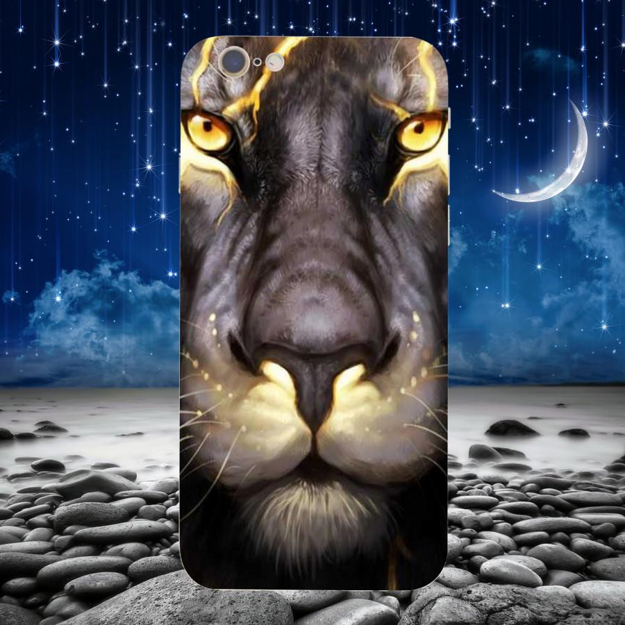 Ốp Lưng Ảnh Sư Tử,Dành Cho Máy iPhone 6 plus ,iphone 6s plus  Ốp Cứng Viền TPU Dẻo MS SU0020