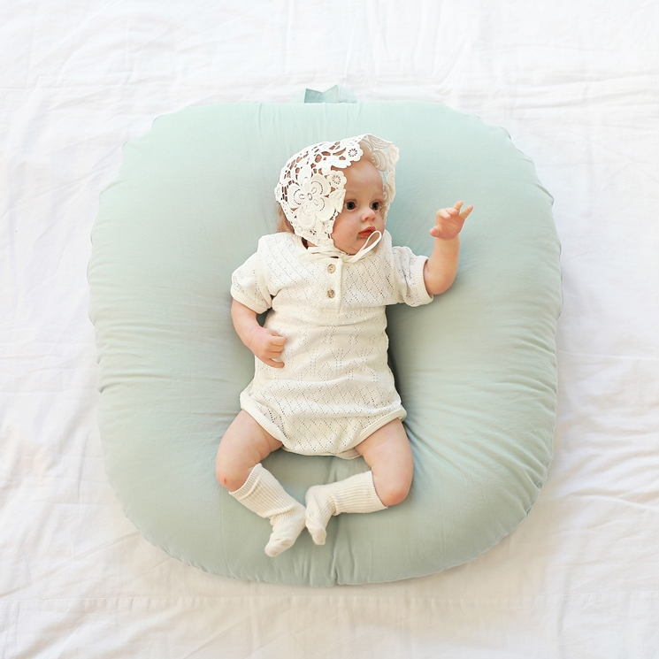 Vỏ gối chống trào ngược Rototo bebe chính hãng chất liệu cotton thấm hút mồ hôi tốt