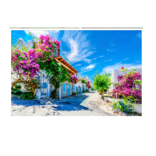 Tranh dán tường cửa sổ 3D | Tranh trang trí 3D | Tranh phong cảnh đẹp | T3DMN 324