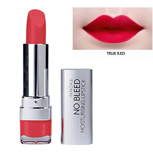 Son Lì Dưỡng Chất Chống Oxi Hóa Giảm Thâm Môi No Bleed Lipstick Innoxa Úc 5