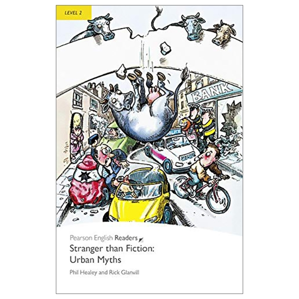 Level 2: Stranger Than Fiction Urban Myths Book And MP3 Pack (Pearson English Graded Readers)