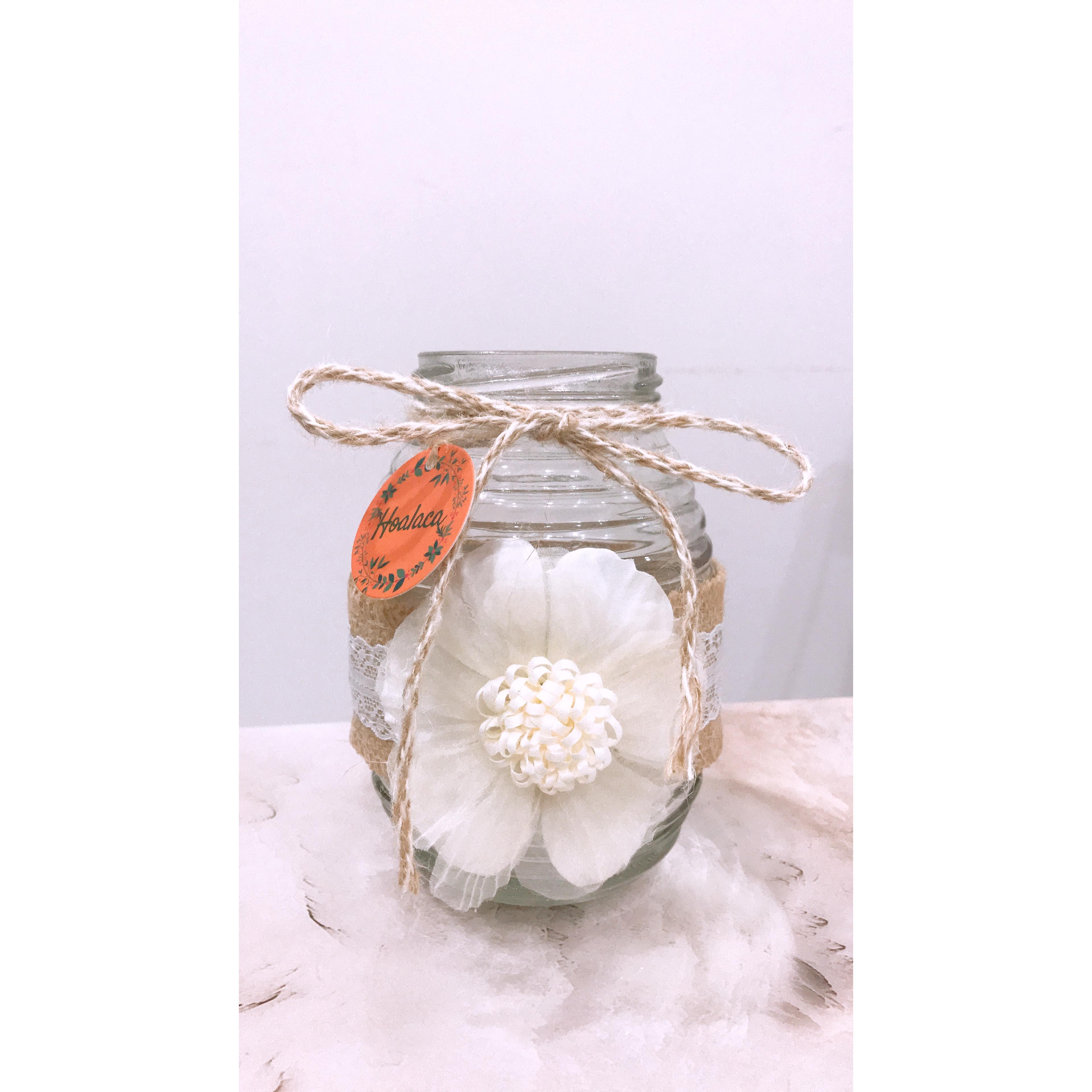 Bình thủy tinh handmade - bình mật ong
