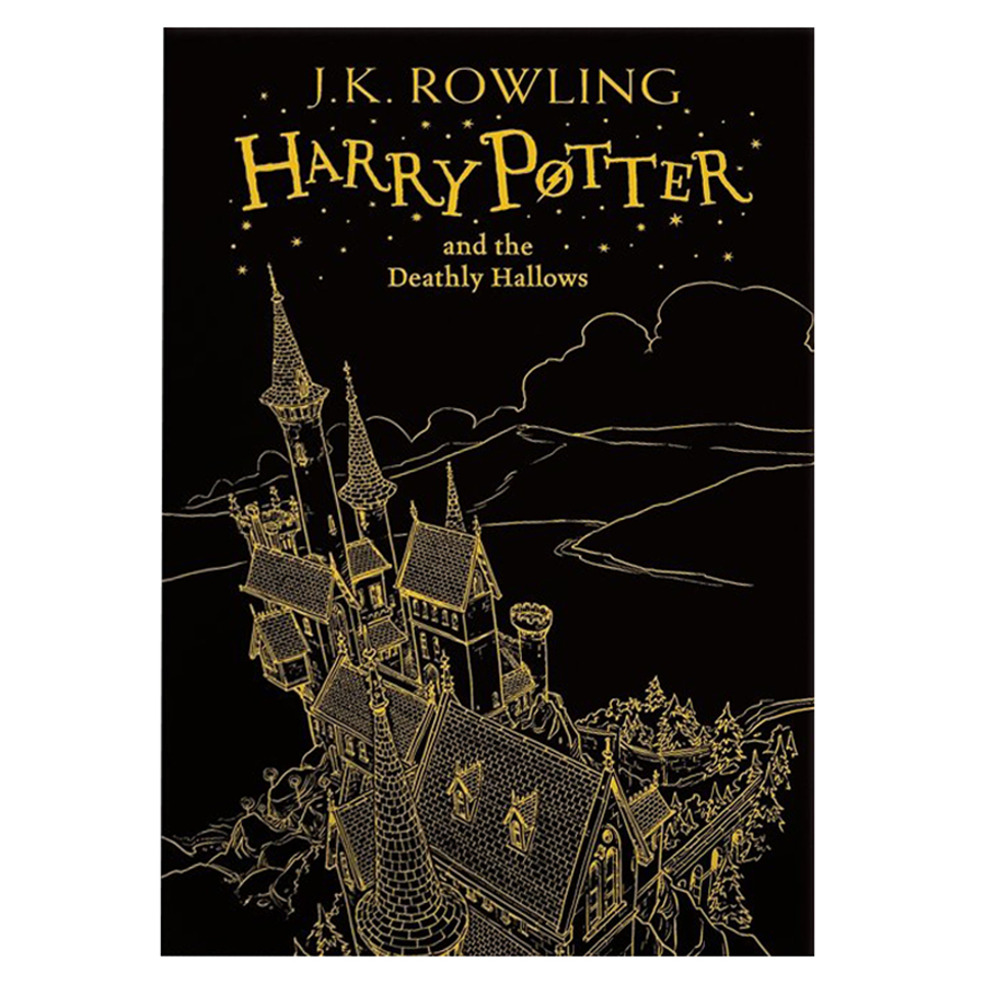Harry Potter Part 7: Harry Potter And The Deathly Hallows (Hardback) Gift Edition (Harry Potter và Bảo bối tử thần) (English Book)