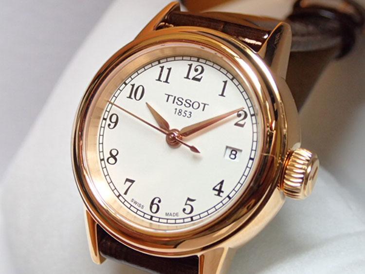 Đồng Hồ Nữ Dây Da Tissot T085.210.36.012.00 (29.5mm) - Nâu