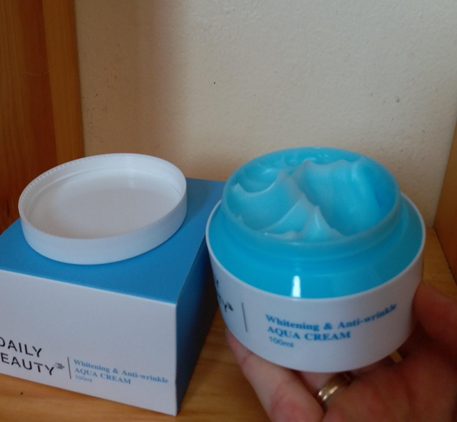 Kem dưỡng Daily Beauty Intensive Anti-WrinKle Aqua Cream R&B Việt Nam xuất xứ LB Hàn Quốc, chiết xuất 100% tự nhiên, cấp ẩm, xóa nhăn, dưỡng trắng, 100ml