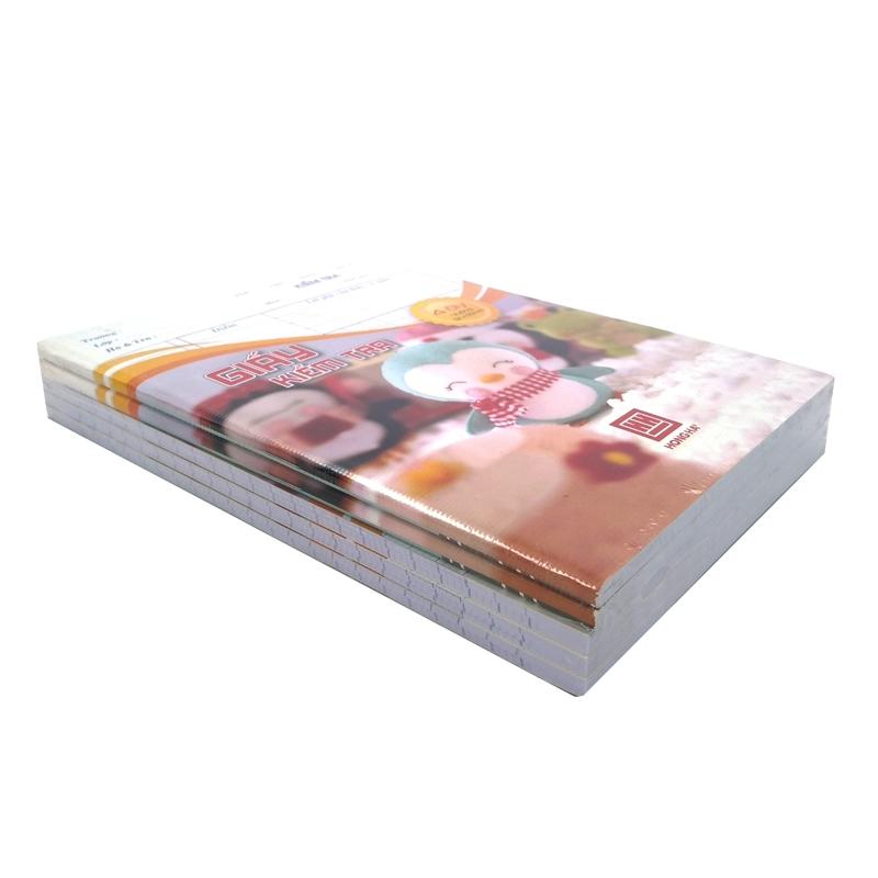 Bộ 3 Tập Kiểm Tra Hồng Hà 4 Ôly 80 Trang 4923 - Mẫu 1