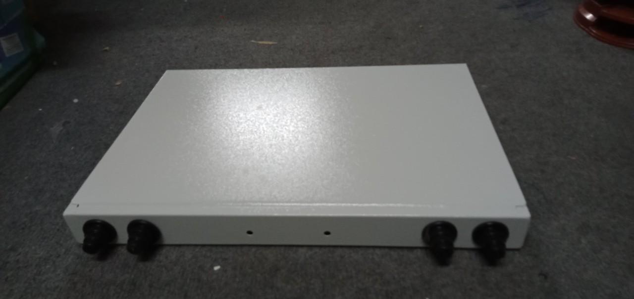 Vỏ ODF 12/24FO indoor rack 1U-19''. Hàng chính hãng