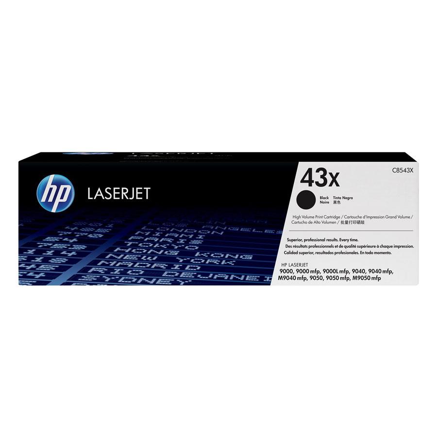 Mực In HP C8543X (HP 43X) Cho Máy In HP 9000hns, HP9040, HP 9000L, HP 9000hnf, HP 9050, HP t 9040, HP 9040n, HP 9050dn, HP 9050n, HP 9040dn, HP 9000, HP 9000dn, HP 9000n, HP 9050, HP 900 - Hàng Chính Hãng