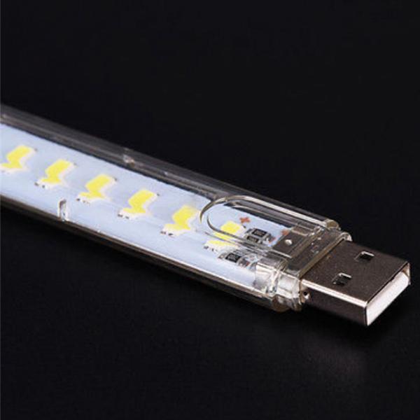 Đèn led 8 bóng siêu sáng cắm cổng usb