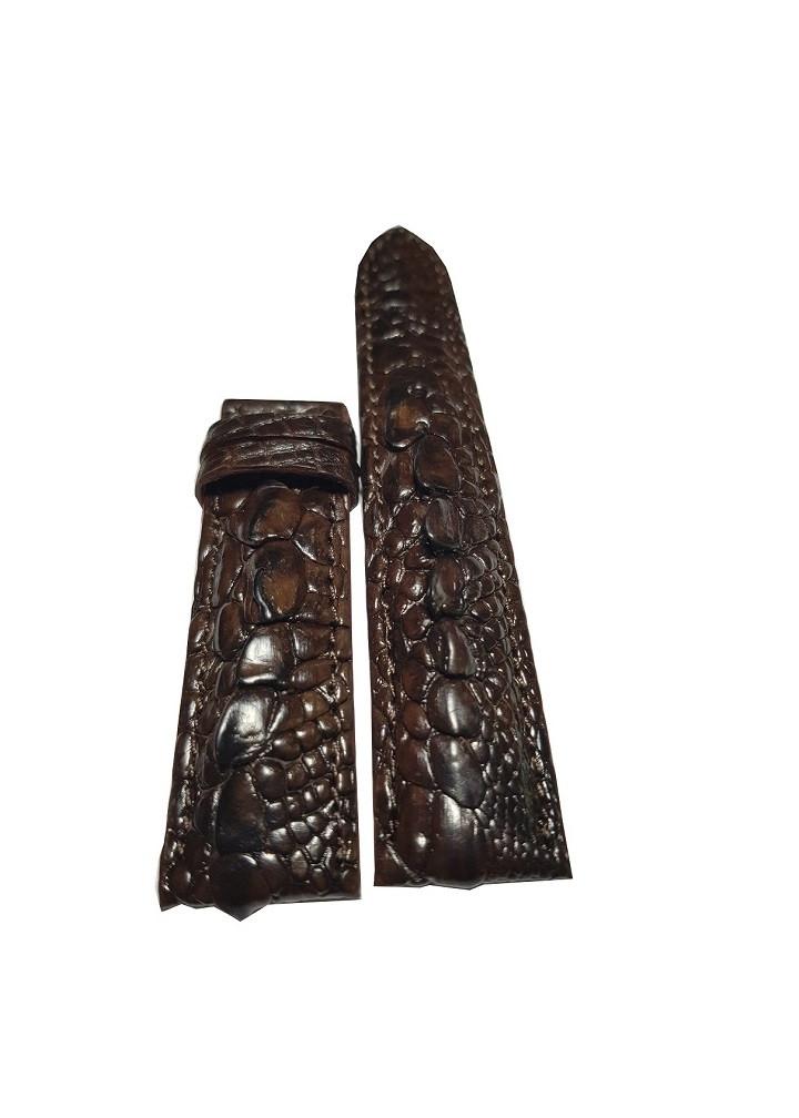 Dây đồng hồ da cá sấu gai tay Ruby Luxury siêu độc - hàng sưu tầm