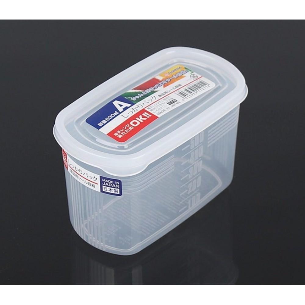 Hộp Nhựa Đựng Thực Phẩm Nakaya 630ml - Nội Địa Nhật