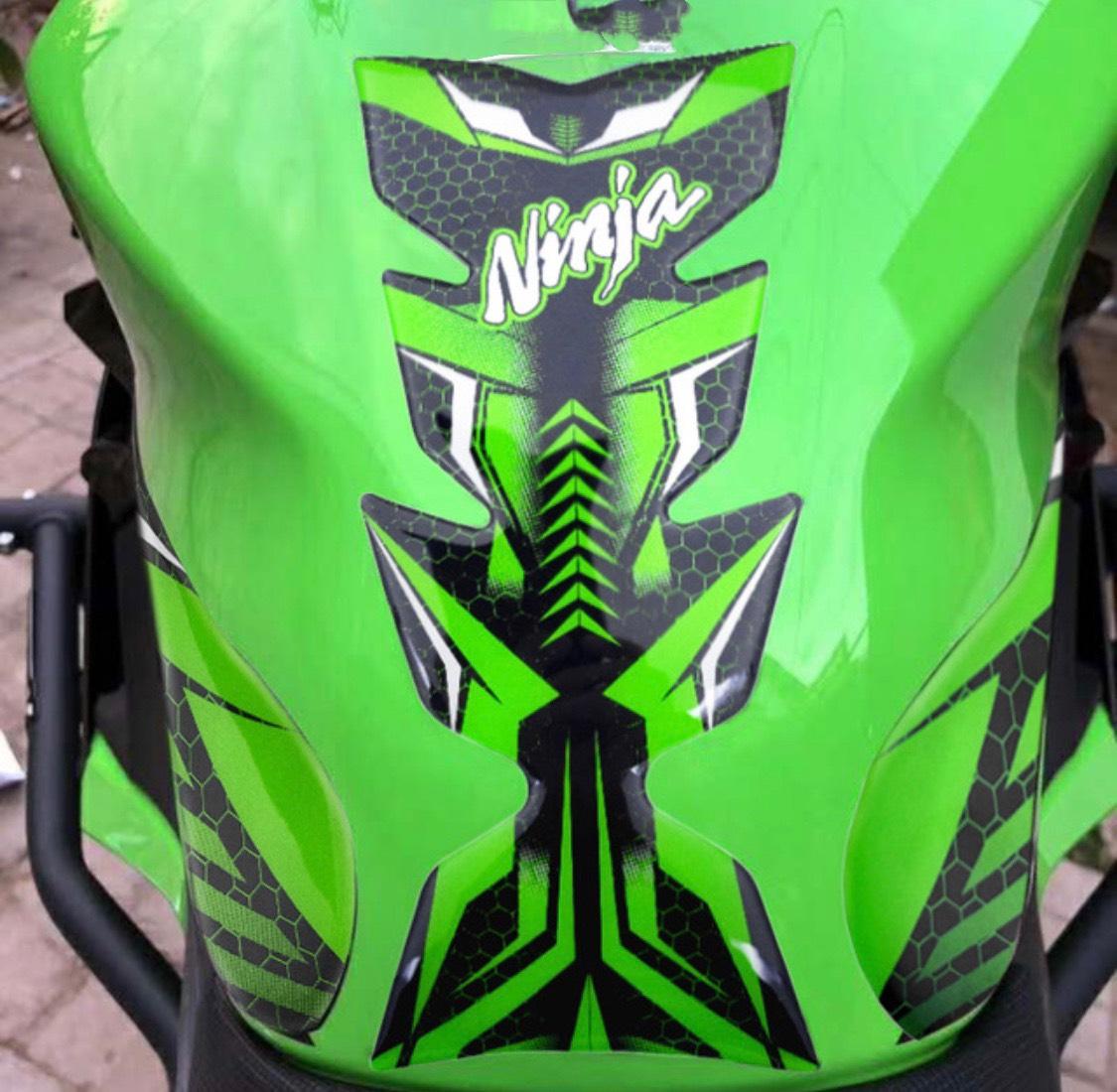 Full Bộ Tem Dán Bình Xăng Cho Xe Ninja400