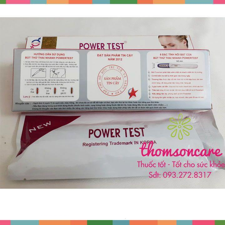 Bút thử thai Power Test - Luôn Che tên sản phẩm