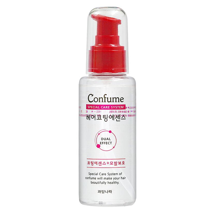 [Tặng móc khoá] Tinh dầu dưỡng tóc thảo dược phục hồi tóc hư tổn Confume Coating Essence 100ml