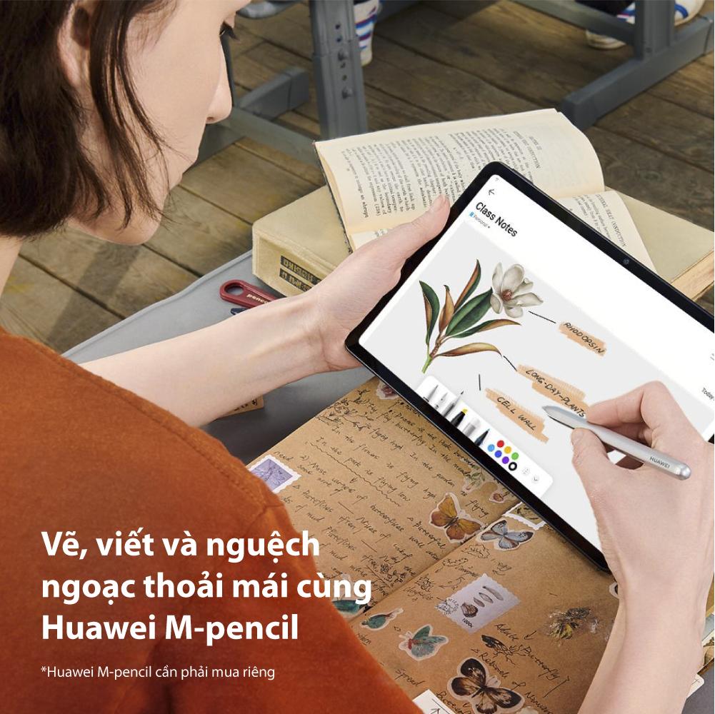 Máy Tính Bảng Huawei Matepad | Màn Hình 2K Fullview | Hiệu Suất Mạnh Mẽ | Âm Thanh Vòm Sống Động | Hàng Chính Hãng