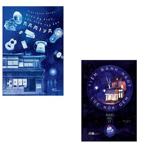 Bộ 2 cuốn tiểu thuyết kỳ ảo hấp dẫn: Điều Kỳ Diệu Của Tiệm Tạp Hóa Namiya - Tiệm Bánh Ngọt Lúc Nửa Đêm