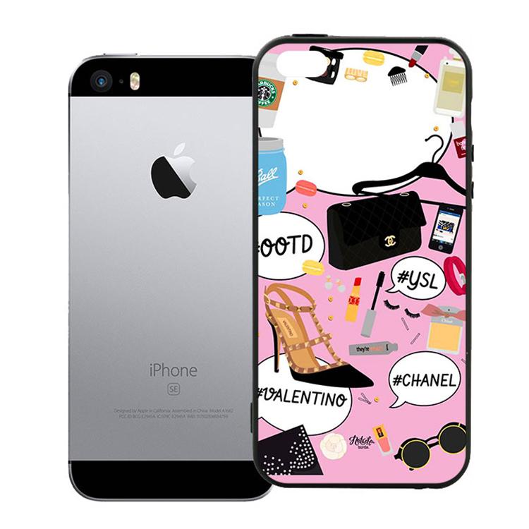 Ốp Lưng Viền TPU Cao Cấp Dành Cho iPhone 5 / 5s - Dream Giirl 01