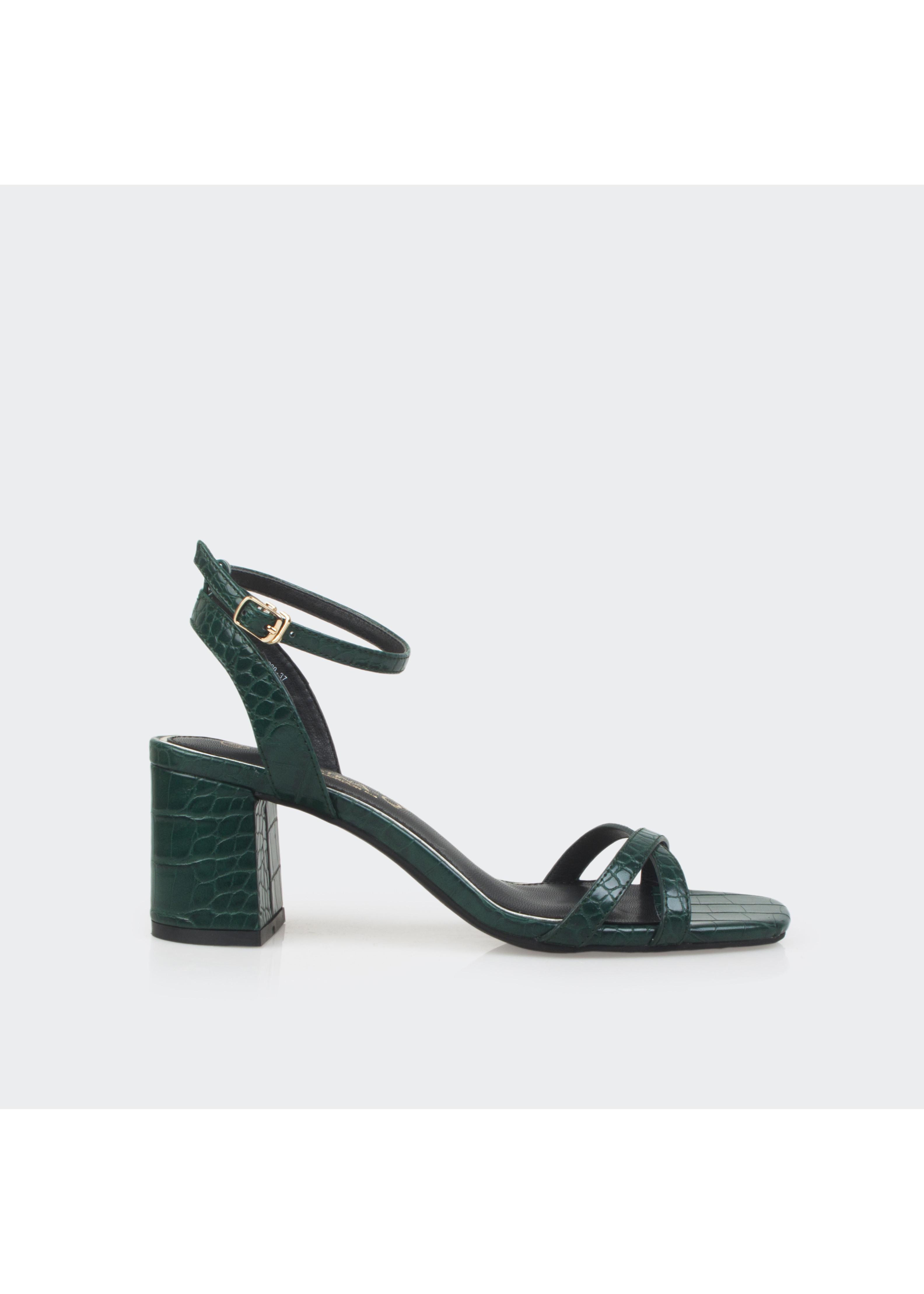 Giày Sandal Cao Gót Nữ Đế vuông CHRISTINA-Q XDN216