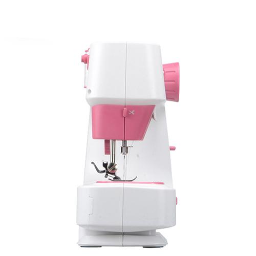 Máy may mini gia đình cao cấp với 12 chế độ may khác nhau tiện lợi, máy khâu gia đình không kén vải sử dụng dễ dàng, máy khâu mini có giả vắt sổ có bàn đạp ga tiện lợi với 12 chế độ may cho các loại vải khác nhau