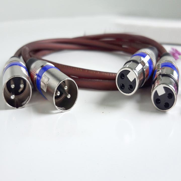 Dây kết nối âm thanh 3 chân CANONđực cái
