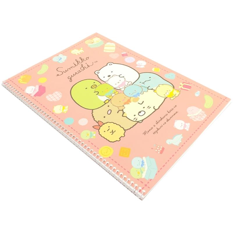 Sổ Lò Xo Spring 10 Sumikko Gurashi - Mẫu 4