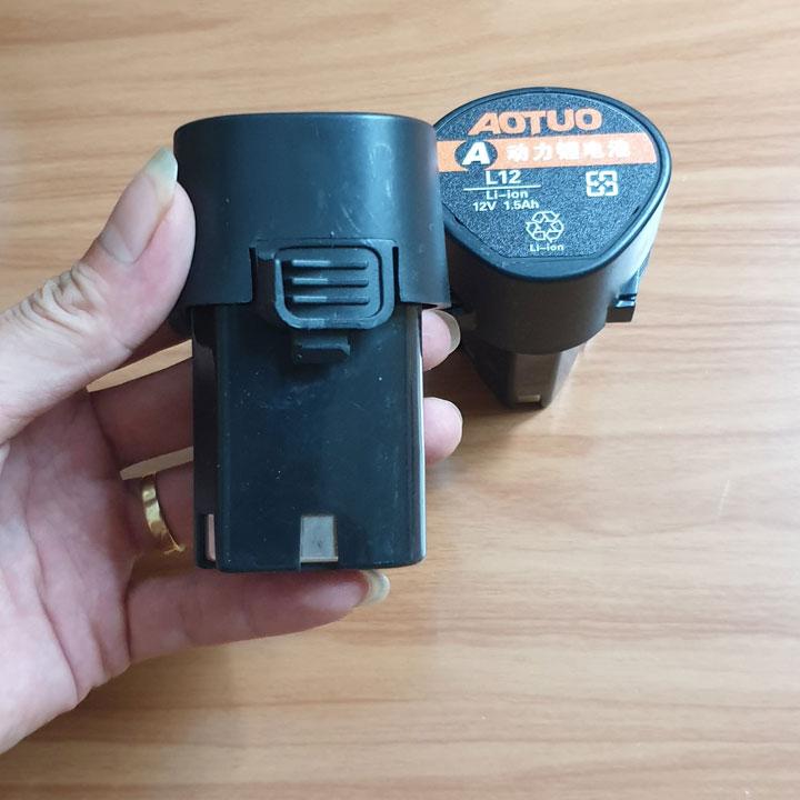 pin li ion aotuo 12v cho máy khoan gia đình - pin máy khoan - pin máy khoan