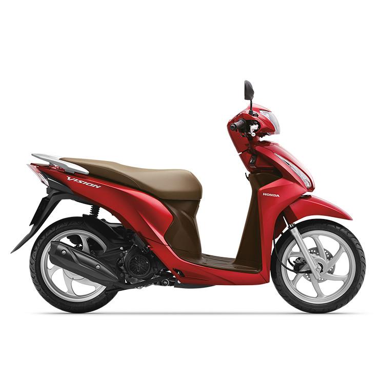 Xe Máy Honda Vision 2019 Bản Thường - Đỏ