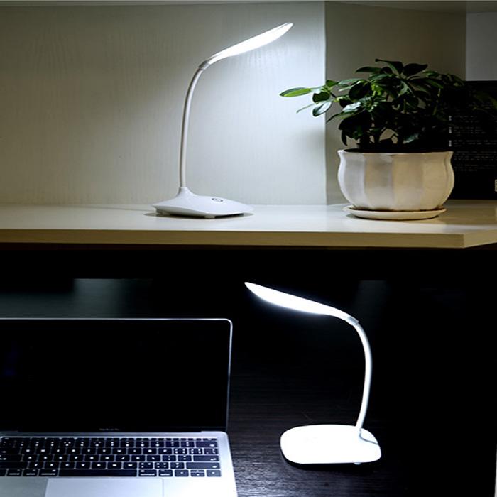 Đèn học để bàn công nghệ Led tiết kiệm điện - Tích Hợp Pin Sạc