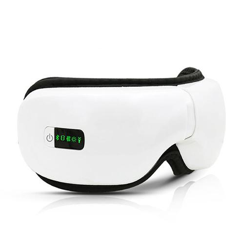 Máy massage mắt áp suất khí sưởi nóng Bluetooth Eye Care cải tiến mới (Tặng kèm 2 mặt nạ đắp mắt)