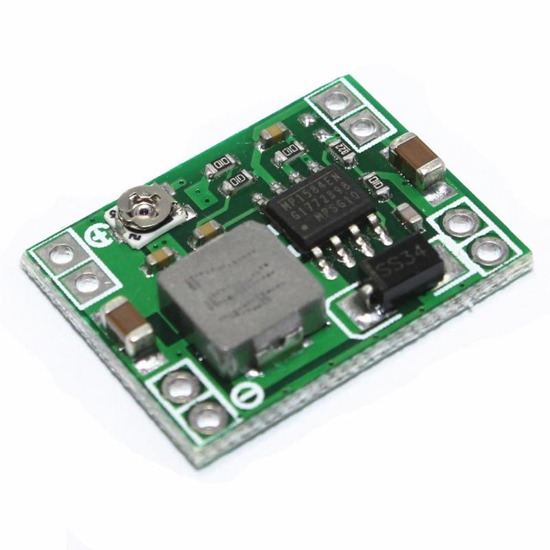 Mạch hạ áp mini Buck 3A MP1584EN ( điện vào 4,5-28VDC, điện ra 0.8-20VDC )