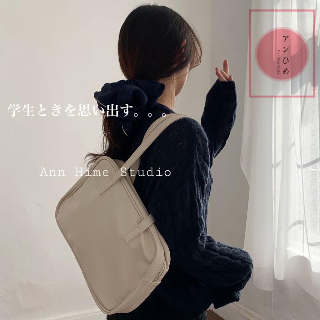 Túi đeo vai nữ sinh viên dung tích lớn túi xách đơn giản
