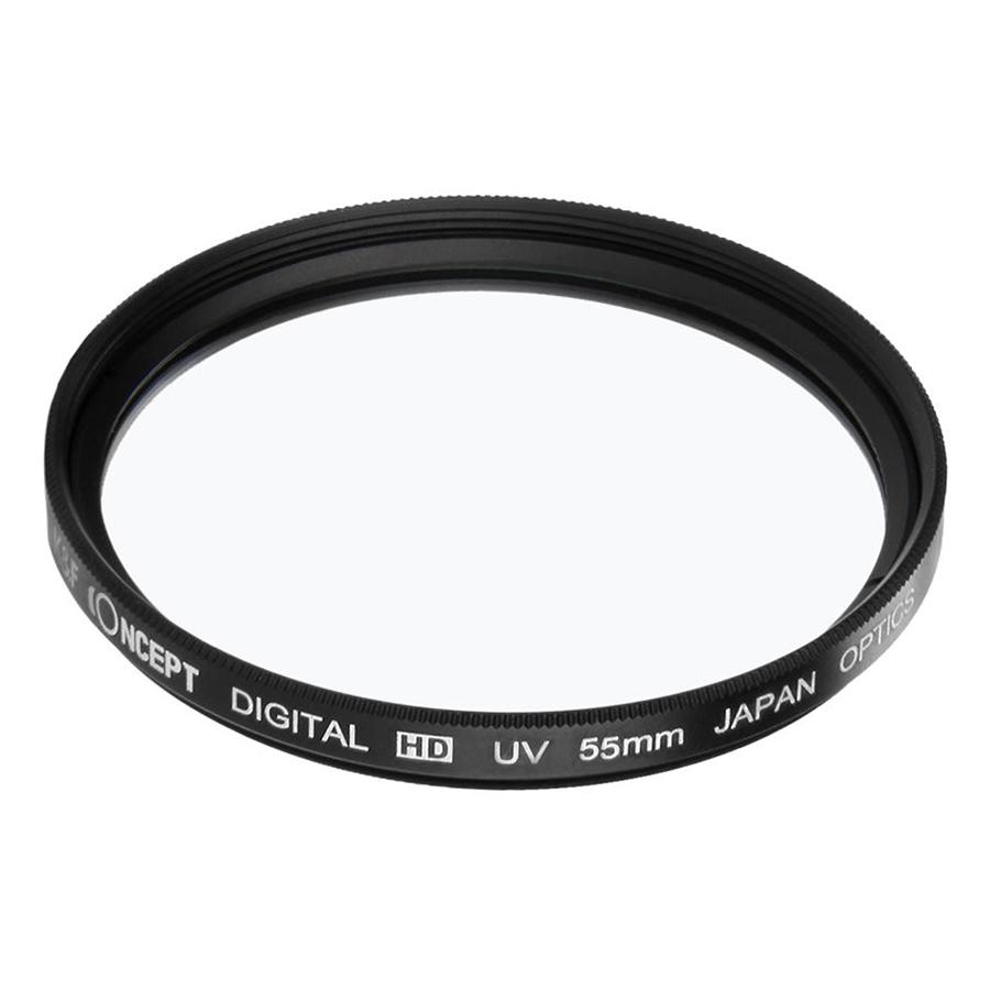 Kính Lọc Concept Filter UV Digital Hd - Japan Optic (Size 55mm) - Hàng Nhập Khẩu