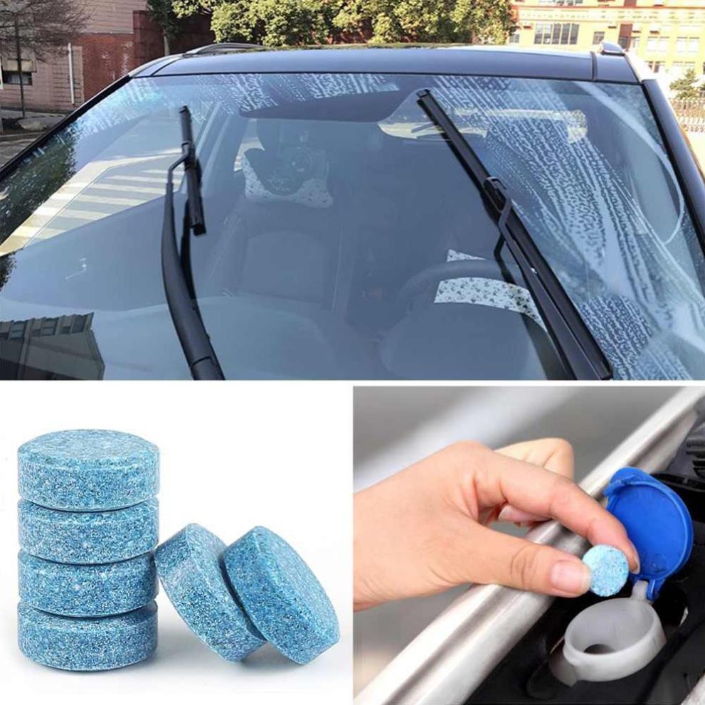Viên sủi rửa kính ô tô đa năng vỏ siêu đậm