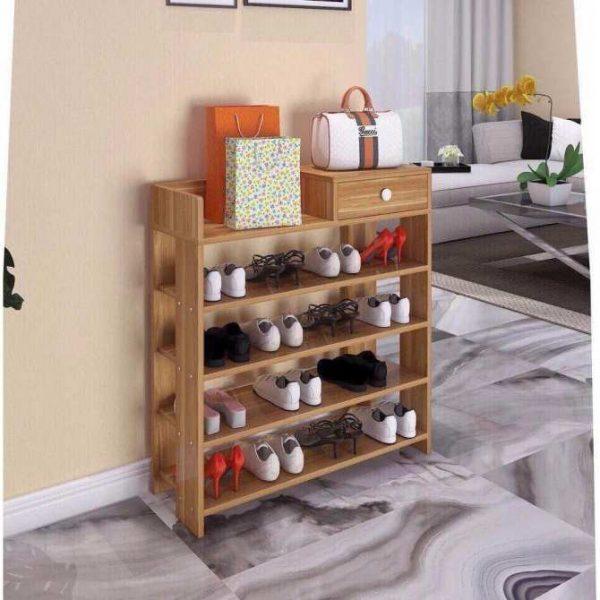 Tủ giày gỗ lắp ráp 5 tầng cao cấp