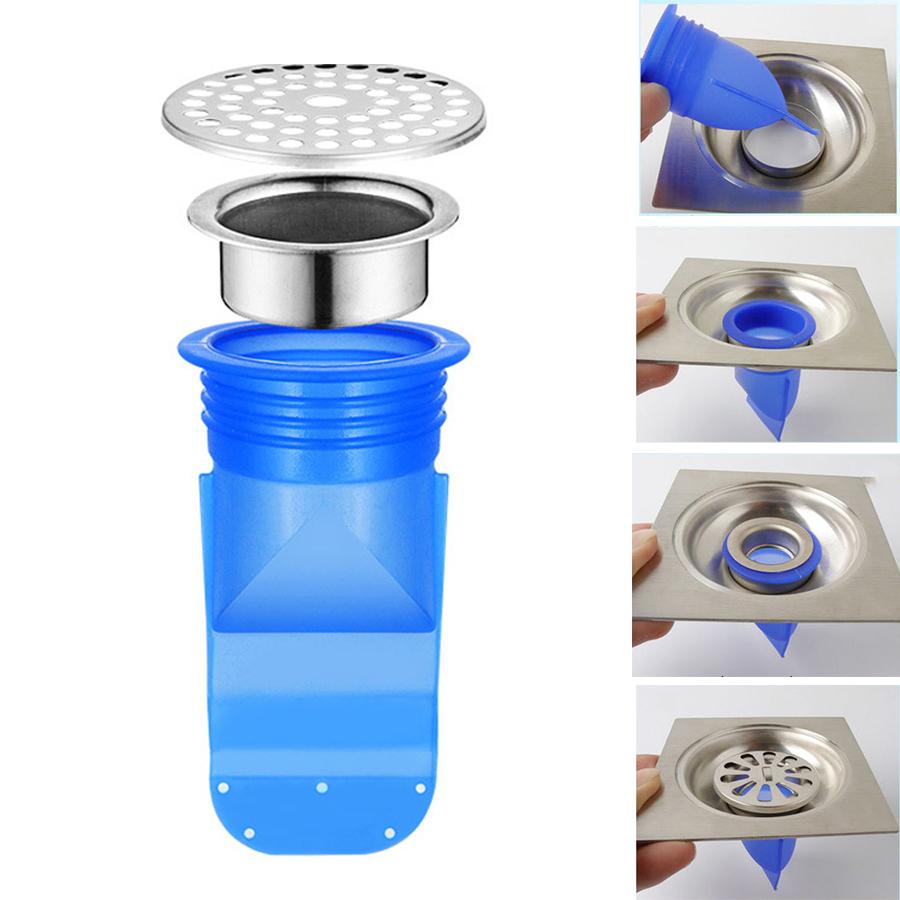 Phụ kiện Silicone lắp thoát sàn chống mùi hôi vi khuẩn trào ngược lên