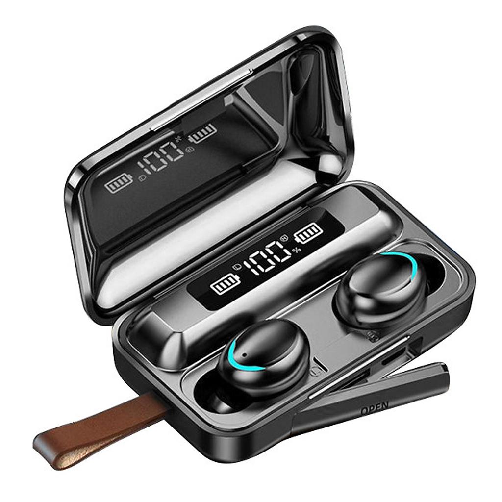 Tai Nghe Bluetooth Cảm Ứng F95 Chất Lượng Cao - Chống Nước IPX7 - Nghe 90h - Tích Hợp Micro - Tự Động Kết Nối - Tương Thích Cao Cho Tất Cả Điện Thoại - HÀNG CHÍNH HÃNG
