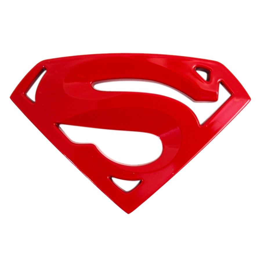 Sticker Hình Dán Metal Super Man 3D