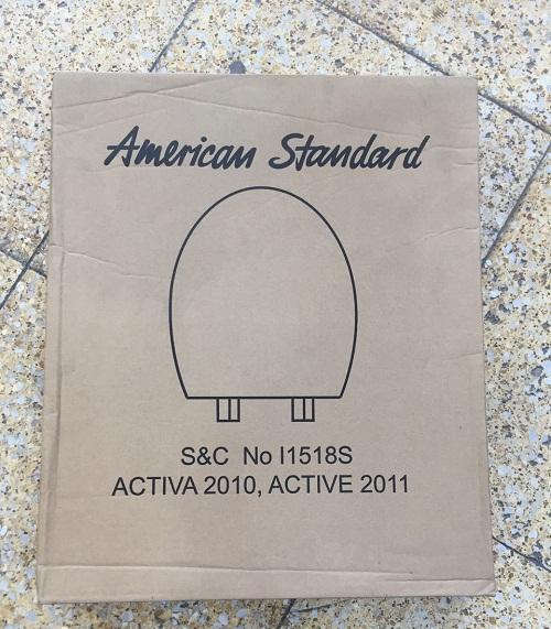 Nắp nhựa dùng cho bồn cầu American Standard nắp đóng êm SCCNI 1518S-WT