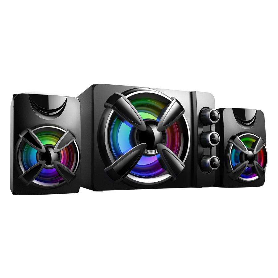 Loa Tích Hợp Bluetooth, USB Và Thẻ Nhớ Bosston T1650-BT Đèn LED RGB - Hàng Chính Hãng