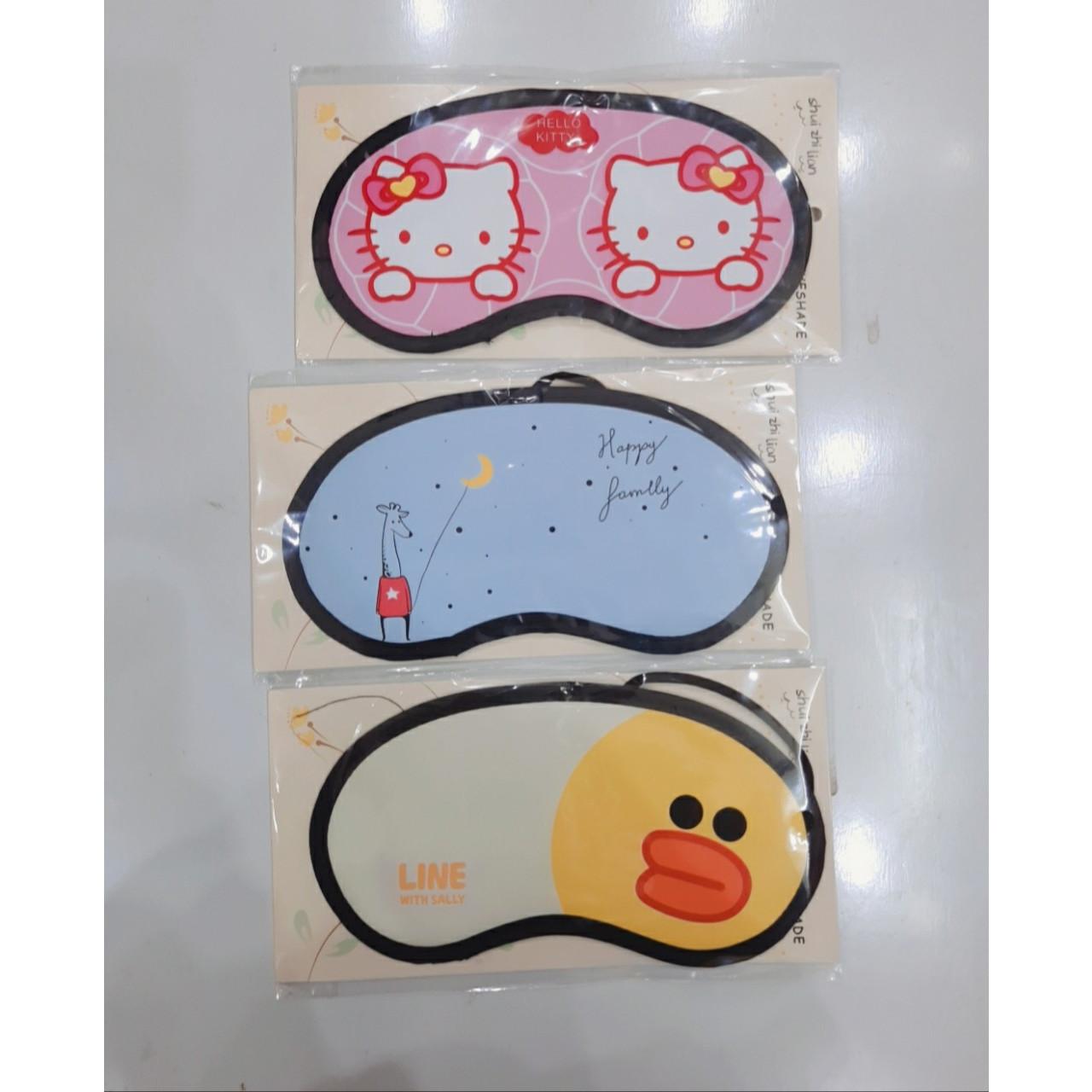 Combo 3 băng đeo bịt mắt ngủ  ( hình ngẫu nhiên )