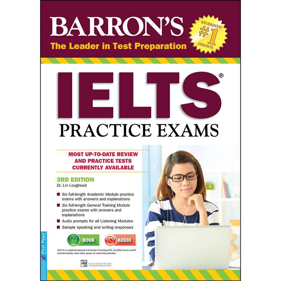 Barron's_IELTS Practice Exams 3rd Edition (Tái Bản)